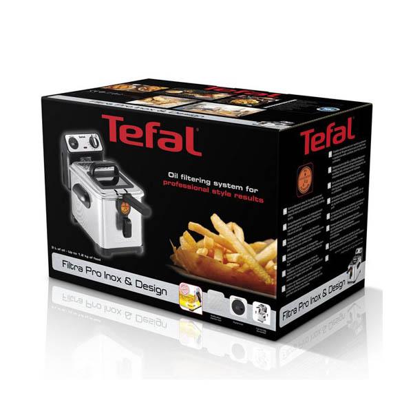 Fritadeira Tefal FR5111 1,2 kg 3 L Inox 2400W Metal Aço