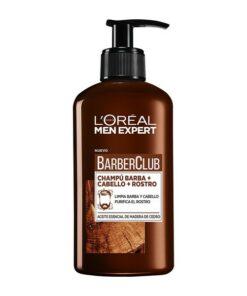 Champô para Barba Men Expert Barber Club L'Oreal Make Up (200 ml)