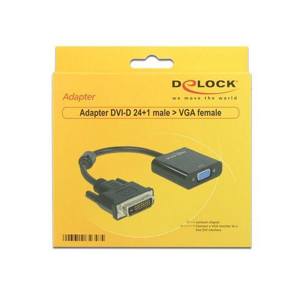 Adaptador VGA para DVI DELOCK APTAPC0561 65658 24+1