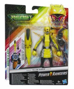 Power Rangers Beast Morphers Hasbro Amarelo (15 Cm)