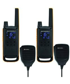 Walkie-Talkies Motorola T82 Extreme RSM (2 Pcs) Preto Amarelo