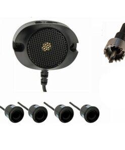 Sensor de Estacionamento M-Tech Conectores Preto (4 x 21,5 mm)