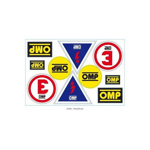 Adesivos OMP Extinguisher Rally