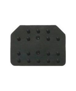 Borrachas para pedais de automóveis Sparco Reflex Preto (3 pcs)