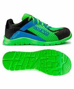 Sapatos de Segurança Sparco Practice S07517 (Tamanho 42) Azul/Verde
