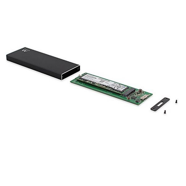 Caixa externa Ewent EW7023 SSD M2 USB 3.1 Alumínio
