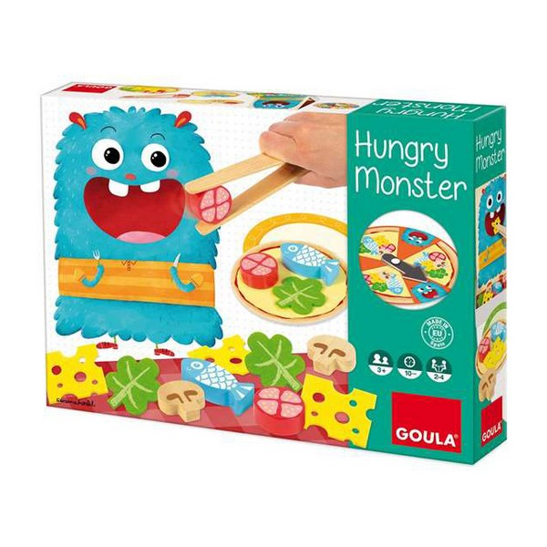 Jogo de Habilidade para Bebé Hungry Monster Diset (3+ anos)