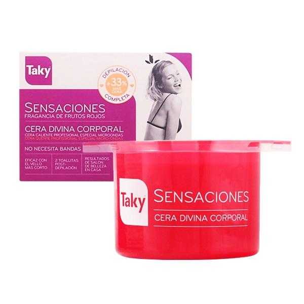 Cera Depilatória Corporal Sensaciones Taky (400 g)