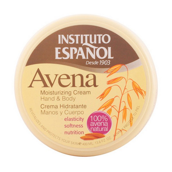 Creme Corporal Hidratante Avena Instituto Español (400 ml)