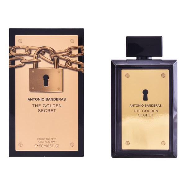 Perfume Homem The Golden Secret Antonio Banderas EDT (200 ml)