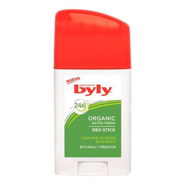 Desodorizante em Stick Organic Extra Fresh Byly (75 ml)