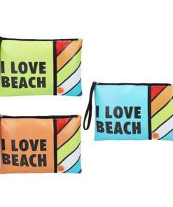 Nécessaire I Love Beach (27 x 20 x 0,5 cm)