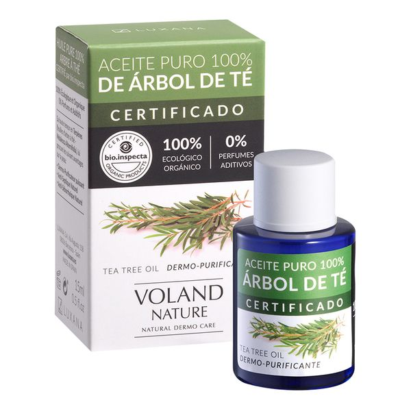 Óleo Hidratante Tea Tree Voland Nature (15 ml)
