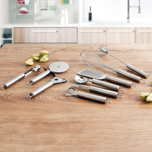 Descaroçador Quid Kitchen Renova Aço inoxidável (20 x 2 x 2 cm)