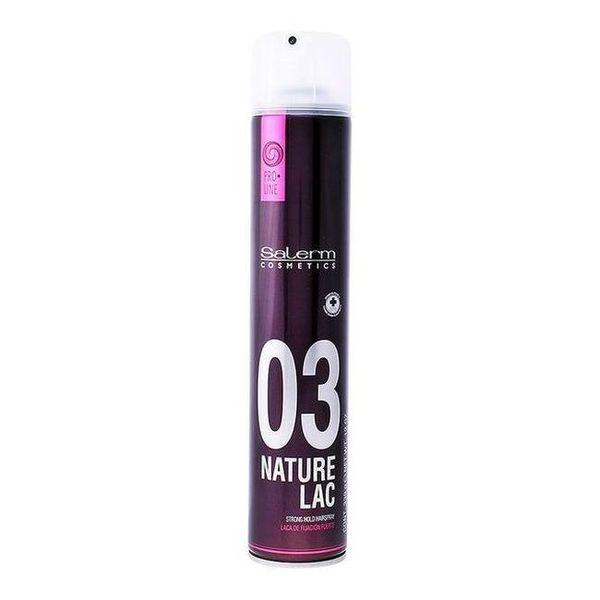 Fixador Forte para o Cabelo Nature Lac Salerm (650 ml)