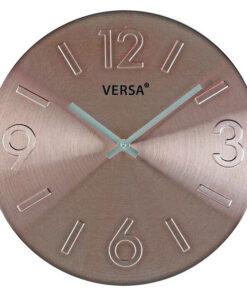 Relógio de Parede Alumínio (4 x 35,5 x 35,5 cm)