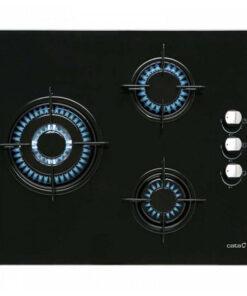 Placa de Gás Cata CI6021BK (60 cm) Preto (3 Fogões)
