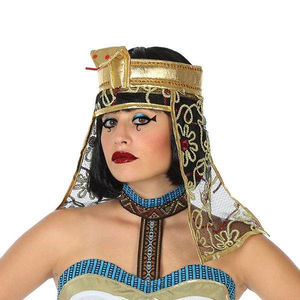 Chapéu Egípcia Dourado 119461