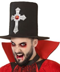 Chapéu Vampiro Preto 119392