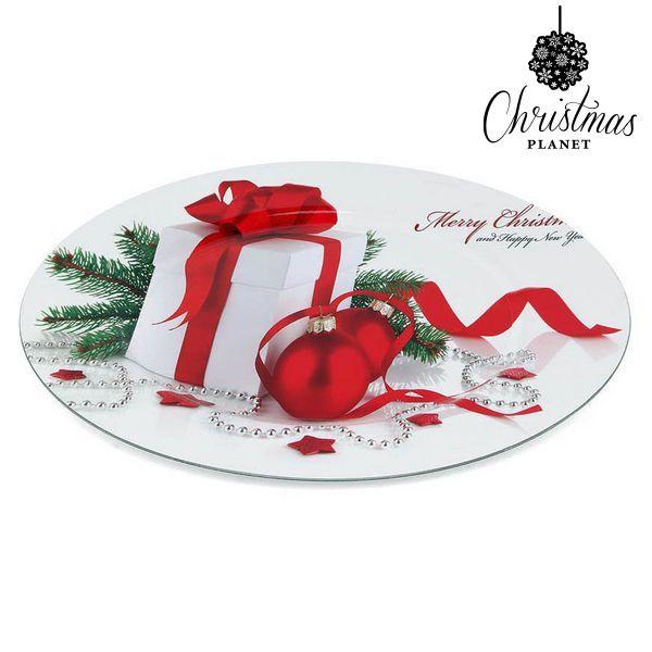 Prato Decorativo Christmas Planet 1147