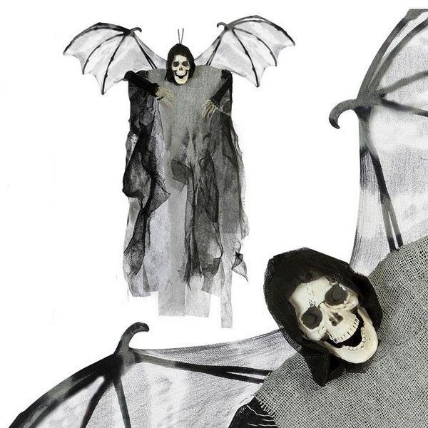 Esqueleto Suspenso (60 x 50 cm) Cinzento Asas