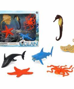 Conjunto 6 Animais Selvagens Ocean 110364
