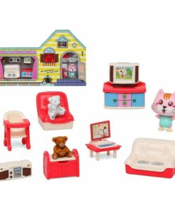 Acessórios para Casa de Bonecas Build Your Living Room