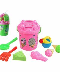 Conjunto de brinquedos de praia (9 pcs)