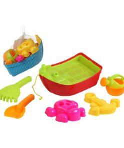 Conjunto de brinquedos de praia Pirate (6 pcs)