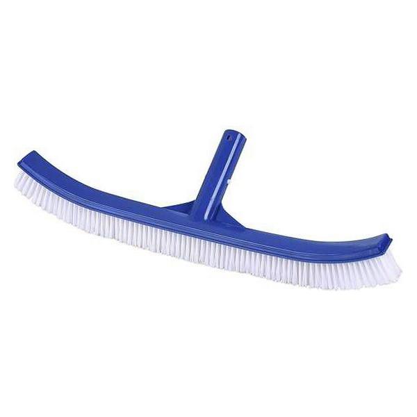 Escova Curva para a Piscina Juinsa Azul Plástico (46 Cm)