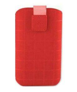 Capa para Telemóvel Universal Roma Xl KSIX Vermelho (12,4 x 7,8 x 1,3 cm)