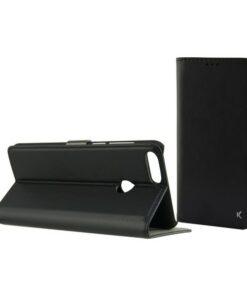Capa tipo Livro para o Telemóvel Huawei P Smart KSIX Preto