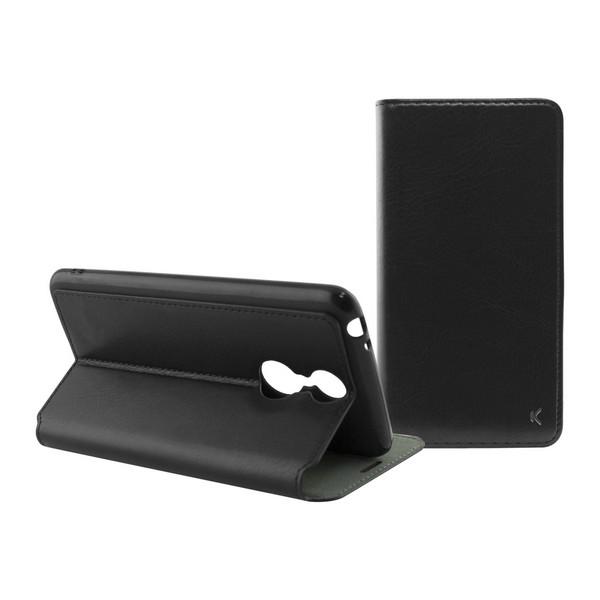 Capa tipo Livro para o Telemóvel Alcatel 3 Flex Preto