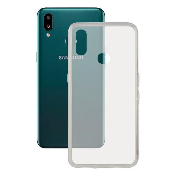 Capa para Telemóvel Samsung Galaxy A10s KSIX Flex TPU Transparente