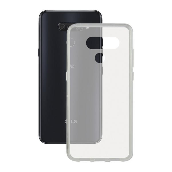 Capa para Telemóvel Lg Q60 Flex Transparente