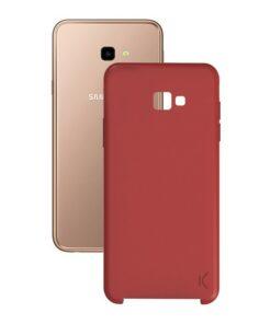 Capa para Telemóvel Samsung Galaxy J4+ 2018 Soft Vermelho