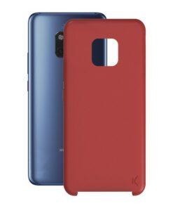 Capa para Telemóvel Huawei Mate 20 Pro KSIX Soft Vermelho