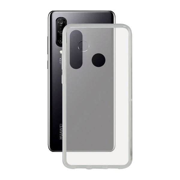 Capa para Telemóvel Huawei P30 Lite KSIX Flex TPU Transparente