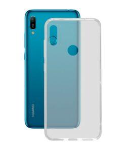 Capa para Telemóvel Huawei Y6 2019 KSIX Flex TPU Transparente