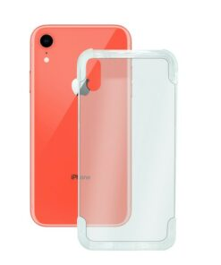 Capa para Telemóvel Iphone Xr KSIX Flex Armor Transparente