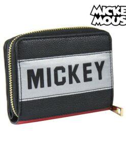 Carteira Mickey Mouse Porta-cartões Preto 70685