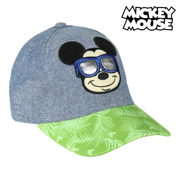 Boné Infantil Mickey Mouse 75316 Azul (53 Cm)