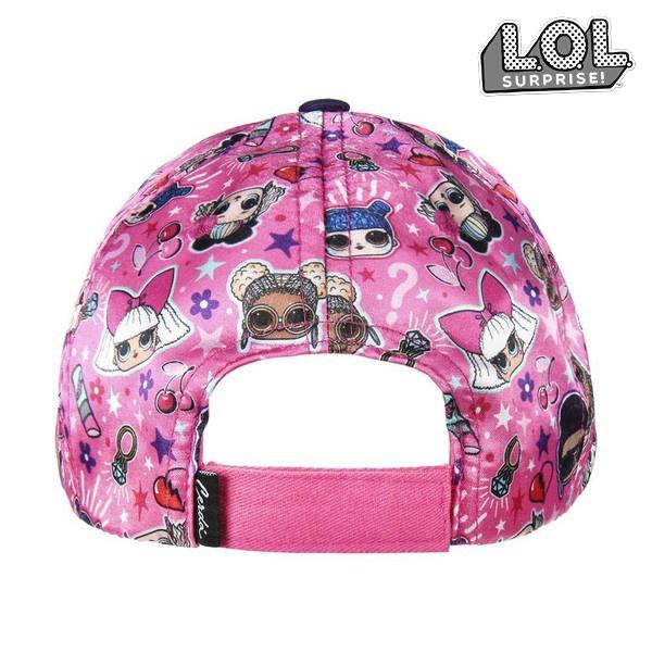 Boné Infantil LOL Surprise! 75321 Cor de rosa (53 Cm)