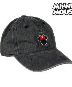 Boné Baseball Minnie Mouse 75328 Preto (56 Cm)