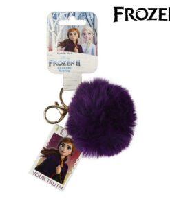 Porta-chaves Peluche Anna Frozen 74024 Roxo