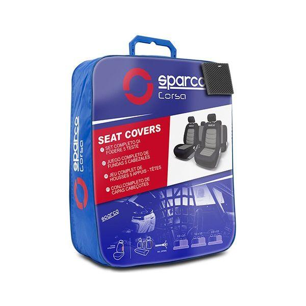 Coberturas de Assentos para Automóveis Sparco S-Line Universal (11 pcs)