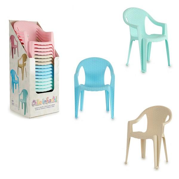 Cadeira Infantil Plástico (37 x 51,5 x 37,5 cm)