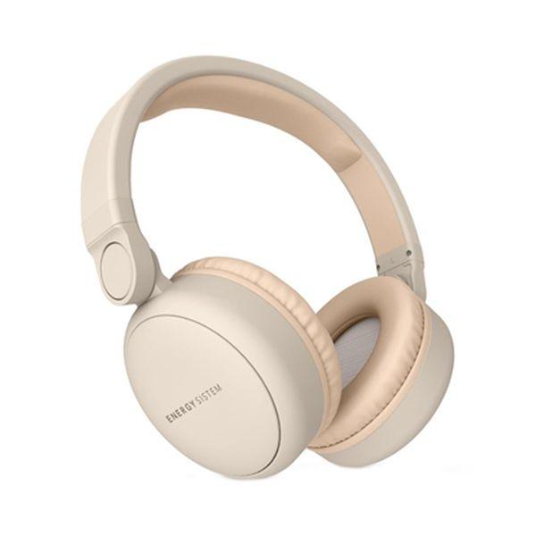 Auriculares Bluetooth com microfone Energy Sistem 445622 Bege