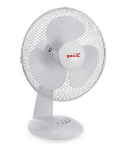 Ventilador de Mesa Basic Home 35W Branco