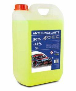 Anticongelante OCC3542 50% Orgânico Amarelo (5 L)